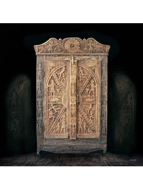 Armoire abhijit aliz for Inter meuble sousse