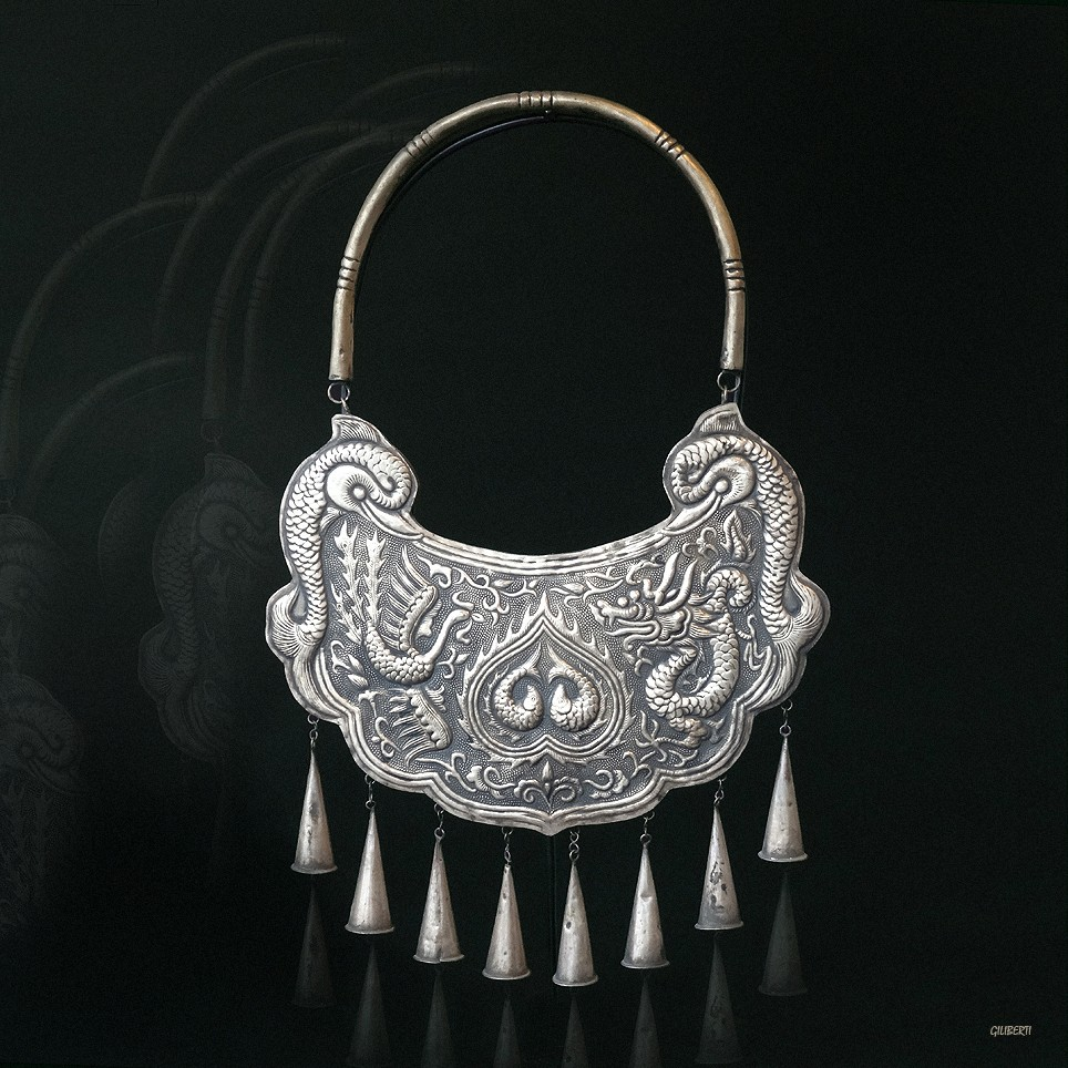 "Collier ""Silver Miao"" II"